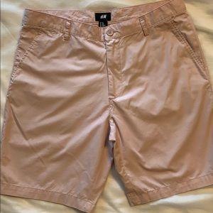 H &M Light Pink Shorts Size 34R